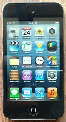 Apple iPod Touch 4th Generation Black (8 GB) Bad Home Button