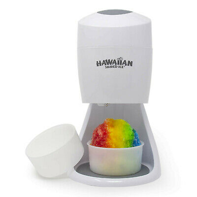 Hawaiian Shaved Ice S900A Shaved Ice and Snow Cone Machine, White