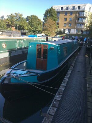 "NARROWBOAT "" Gorse"" 55ft TRAD STERN"