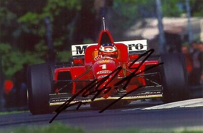 Michael Schumacher (World Champion Formula One Racer), Hand Signed A4 Photo.