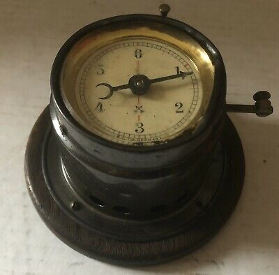 ANTIQUE K.C. Co. GERMANY CALCULAGRAPH TIMER CLOCK STEAM PUNK PHONE BILLIARD HALL