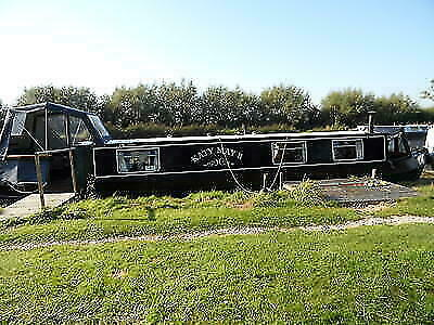 40ft narrowboat livaboard cruiser stern houseboat Katy May II