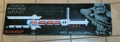 New Star Wars The Black Series Force FX Z6 Riot Control Baton Nonmint Box