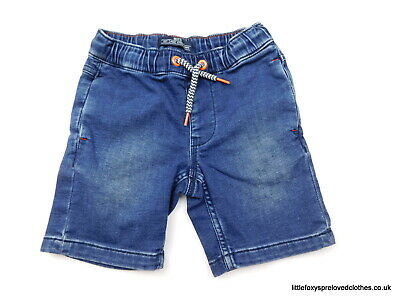 4 year Matalan boys denim shorts blue stylish comfy