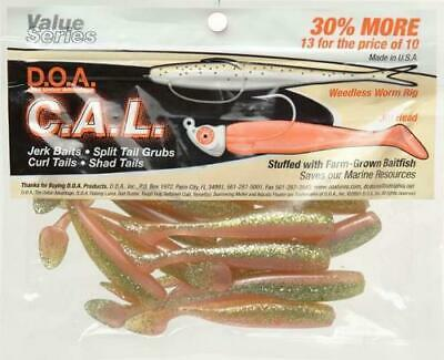 "SHAD TAIL /""NEW COLOR/"" FREE USA SHIPPING....24 DOA BAYOU TIGER 3/"" C.A.L"
