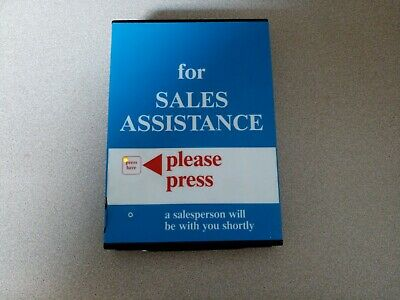 Kmart Call for Sales Assistance Box. Department Store Collectible.  Works 1994