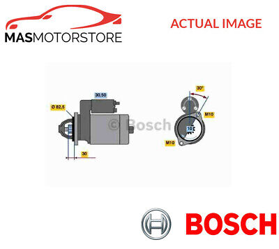 0 986 013 390 Bosch Engine Starter Motor I New Oe Replacement
