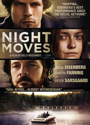 NIGHT MOVES Dakota Fanning MYSTERY THRILLER USED VERY GOOD DVD