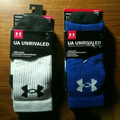 - Size Large Youth Under Armour Striker Soccer OTC Sock Shoe Sz 1-4 New