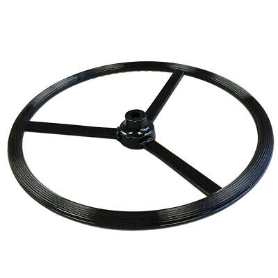 "AA380R 18"" Unstyled Steering Wheel Fits John Deere Fits JD Tractor Models A D G"