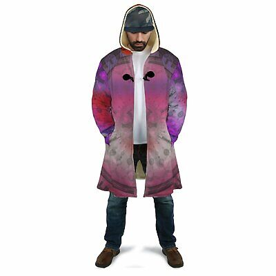 Abstract Mandala Dream Sherpa Cloak