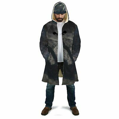 Cloudy Night in Space Dream Sherpa Cloak