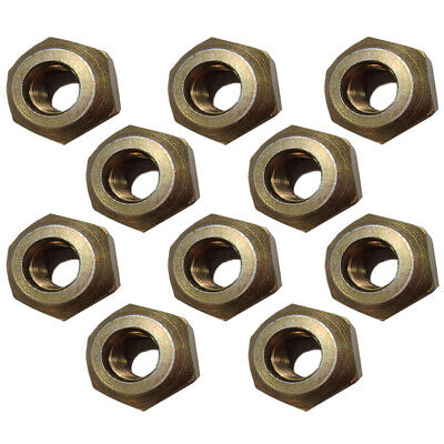 D3NN1120B Set of 10 Ford New Holland Tractor Wheel Nuts 4000 5000 6600 7000 +