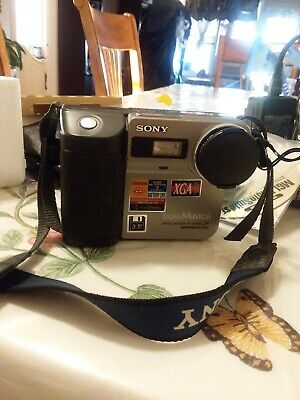 Genuine Sony Mavica MVC-FD81 Digital Still Camera Made in Japan vintage 1998