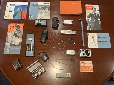 Minox A 111s Subminiature Spy Camera With All Attachments - Lightmeter, Etc
