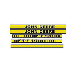 JD4450 New fits John Deere Hood Decal Set for Tractor Model 4450