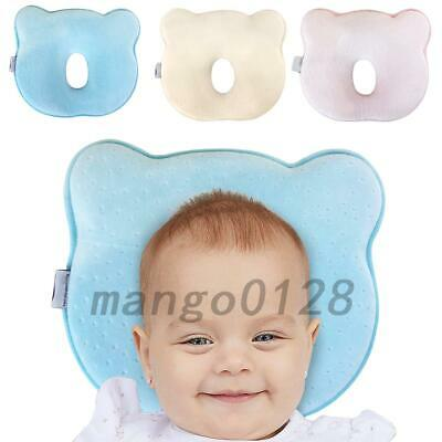 Soft Memory Foam Baby Cot Pillow Prevent Flat Head Cushion Sleeping Support