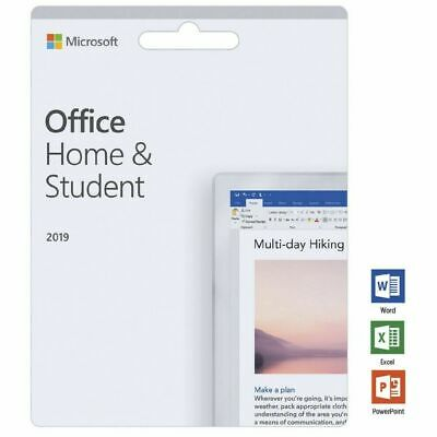 Microsoft Office Home and Student 2019 Lifetime (Windows Only) -  Retail Key