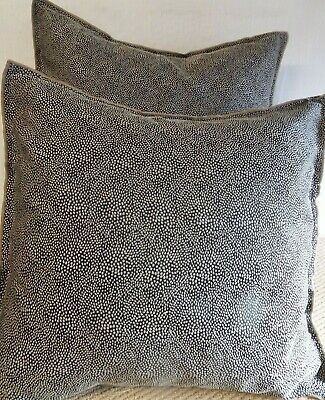 £12.99 For Pair Of  Extra Large Giant Cushions Beige And Brown