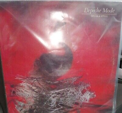 Depeche Mode Speak & Spell Vinyl LP 1981 Mute Records. Very good condition