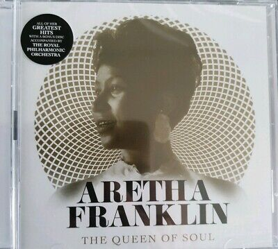 Aretha Franklin Queen Of Soul Greatest Hits Plus Bonus Album With The Royal...