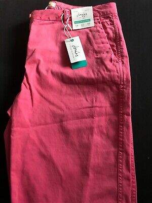 Joules Ladies Hesford Rosehip Chino BNWT