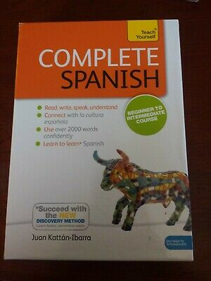 Complete Spanish Beginner to Intermediate Book and Audio : Learn to read, wri