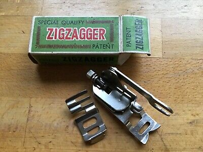 Zigzagger foot for low shank sewing machines including Singer 221 and many more.