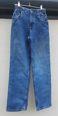 BOYS CLOTHES AGE 12 YRS, GAP CASUAL REGULAR FIT JEANS w ELASTICATED WAIST