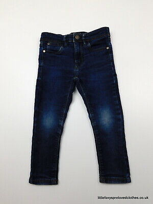 3 year NEXT girls skinny jeans denim trousers blue