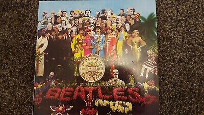 BEATLES  SGT PEPPERS  LONELY HEARTS CLUB BAND LP 2016  ( EXCELLENT ) with insert