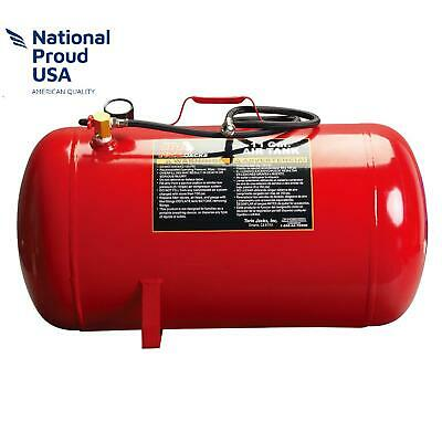 "Torin Big Red Portable Horizontal Air Tank With 50"" Hose, 11 Gallon Capacity"