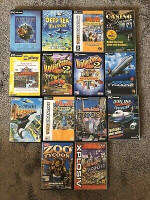 14 x Pc Cd-Rom Mixed Games In Great Condition