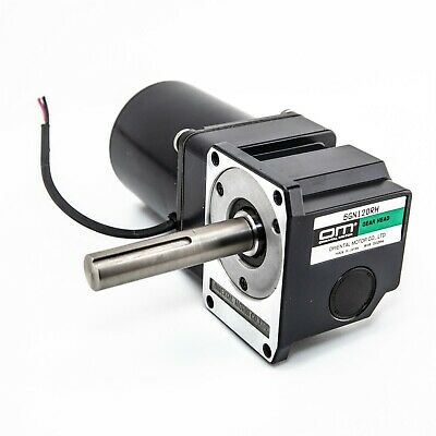Oriental Reversible AC Motor 5RK40GN-AW & Right Angle 120:1 Gear Head 5GN120RH