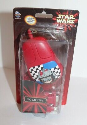 Star Wars Episode I Anakin Skywalker PC Mouse Wired Brand New