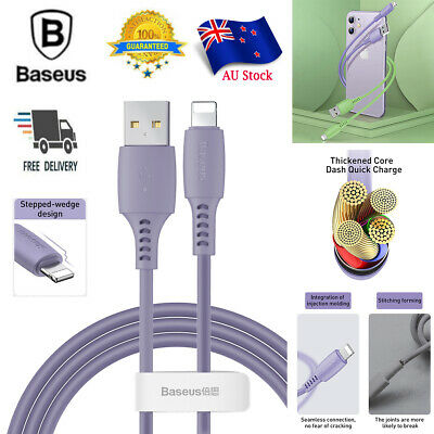 USB Lightning Charging Charger Cable Data Cord For iPhone XS MAX XR XS 8 7 6S