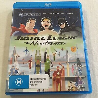 Justice League: The New Frontier (2008) - Blu-Ray Region B | Like-New