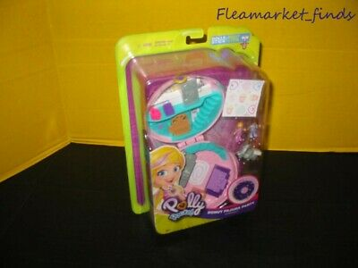 Polly Pocket Donut Pajama Party Collectible Kids Gift Miniature Figures New Rare