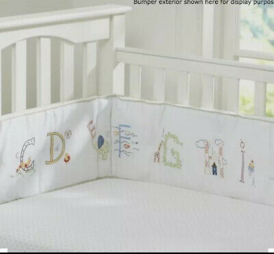 Pottery Bar Kids Abc Crib Bumper And Quilt.