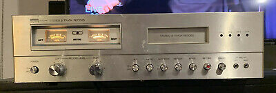 Montgomery Ward Airline AM FM Stereo 8 Track Player Recorder 6827a Chrome Vtg