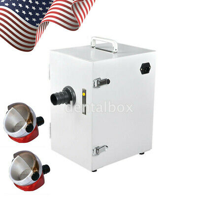 UPS Dental Lab Digital Single-Row Dust Collector Vacuum Cleaner / Suction Base