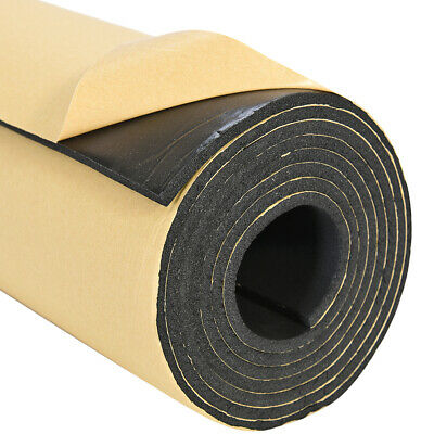 Car Sound-proofing 6MM Deadening Insulation Foam Mat Acoustic Panel 1m x 3m Roll