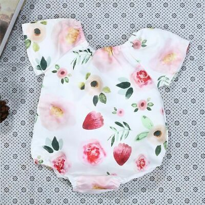 Toddler Girls Clothes Sleeveless Romper Set Infant Baby Playsuits Outfits