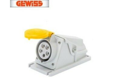 Gewiss GW62474 Low Voltage Screw Wiring 90 Degree Angled Surface-Mounting IP44,