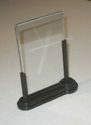ART DECO 1930s GEOMETRIC STEPPED BAKELITE PHOTO FRAME BEVELLED GLASS