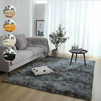 Heavy Duty Thick Shaggy Extra Large Small Area Rugs Living Room Bedroom Carpets