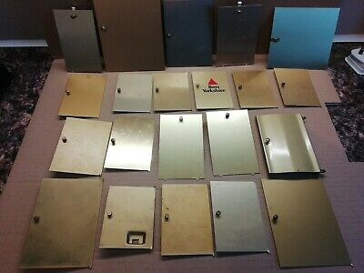 joblot replacement carriage clock doors crafting pixie/elf  doors metal various