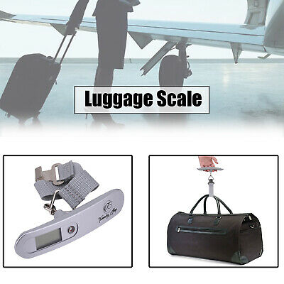 50kg Handheld Portable Digital Luggage Scale Travel Electronic Weighing Scale