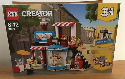 Lego  Creator 3in1 Modular Sweet Surprises 31077  New Factory Sealed