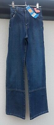 BOYS CLOTHES AGE 12 YRS, M&S CASUAL REGULAR FIT INDIGO JEANS w ADJUSTABLE WAIST